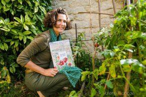 """Raphaele Bernard-Bacot, autrice de """"jardiniers des villes"""", ed. rue de l'échiquier"""