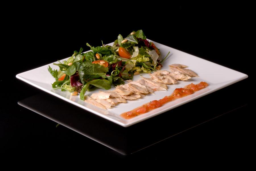 Tuna belly loin salad