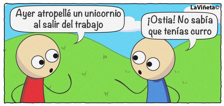 Atropellé un unicornio