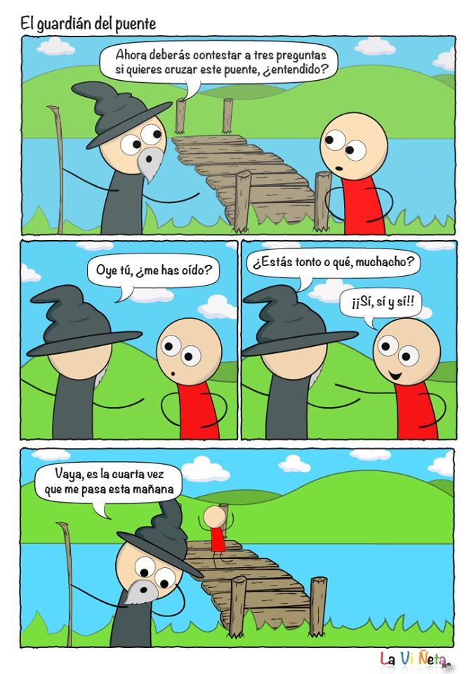 El guardián del puente
