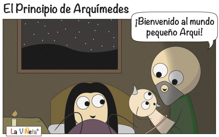 El Principio de Arquímedes