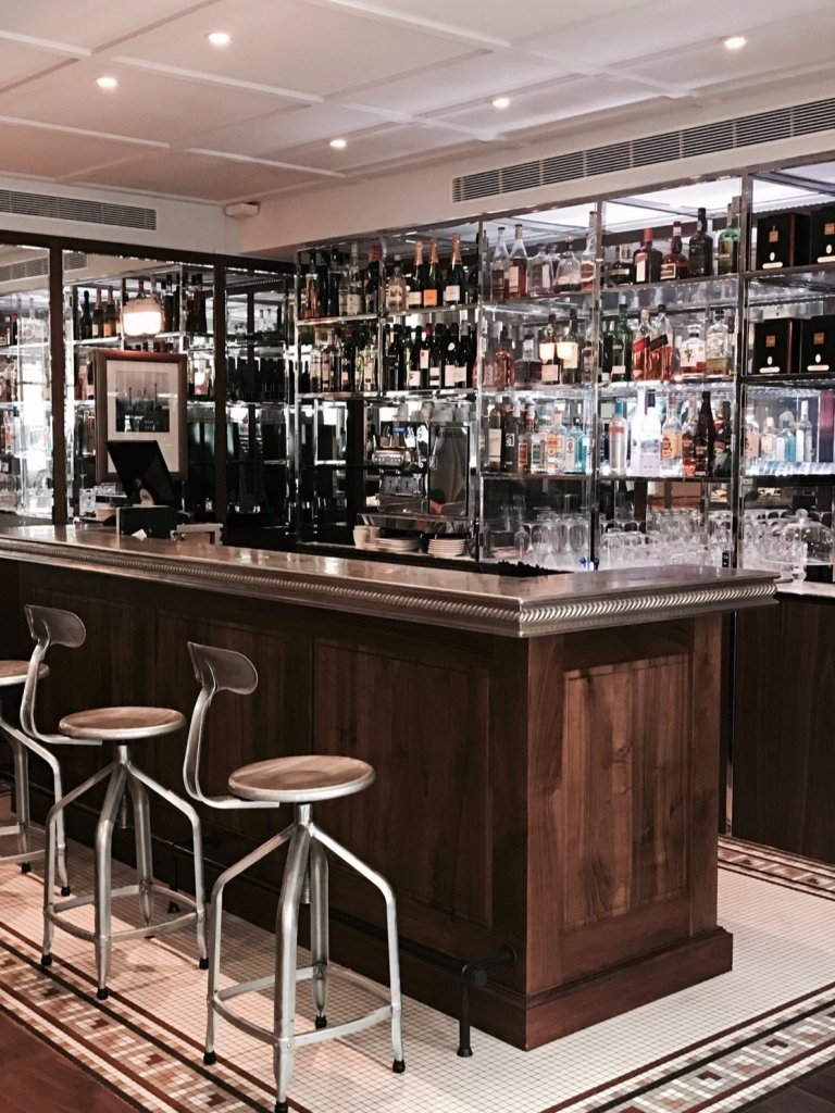 Foto del bar interno all'hotel Paris Bastille Boutet