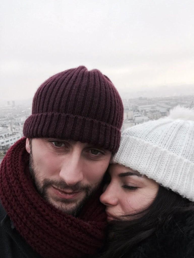 Lavinia Guglielman e Dino Passeri a Parigi al Sacre Coeur
