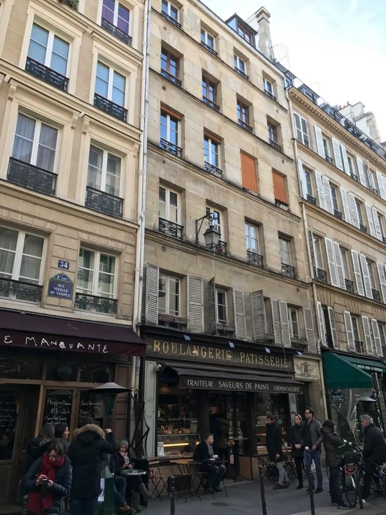 Quartiere Le Marais di Parigi