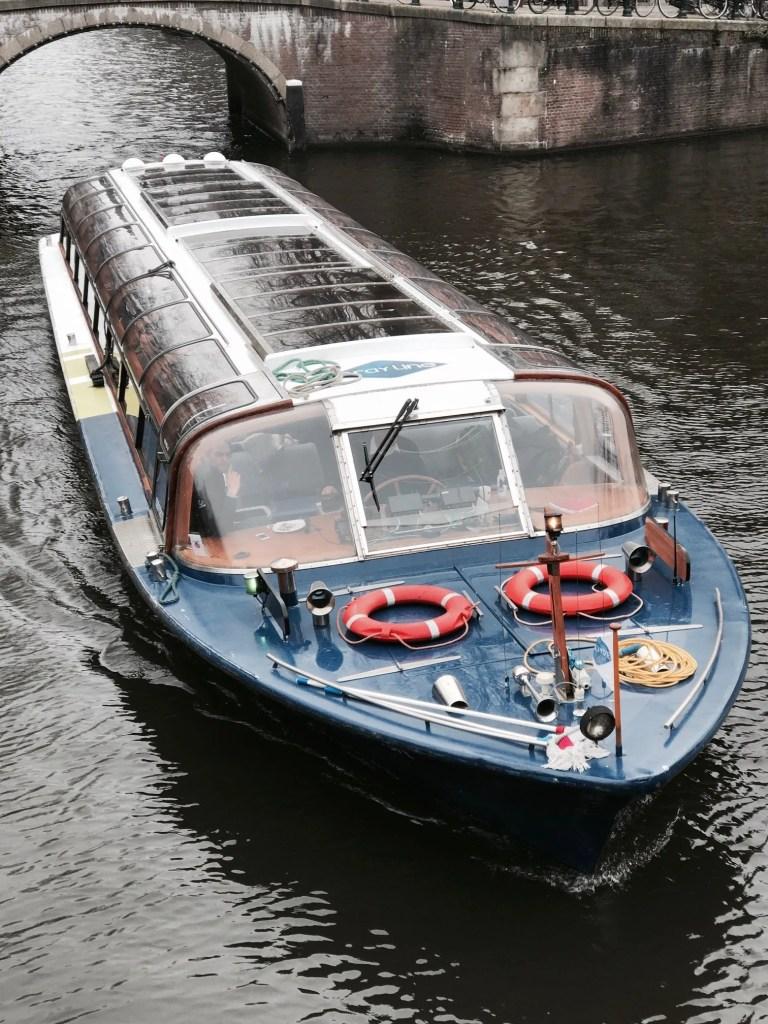 Barca e gita nei canali di Amsterdam