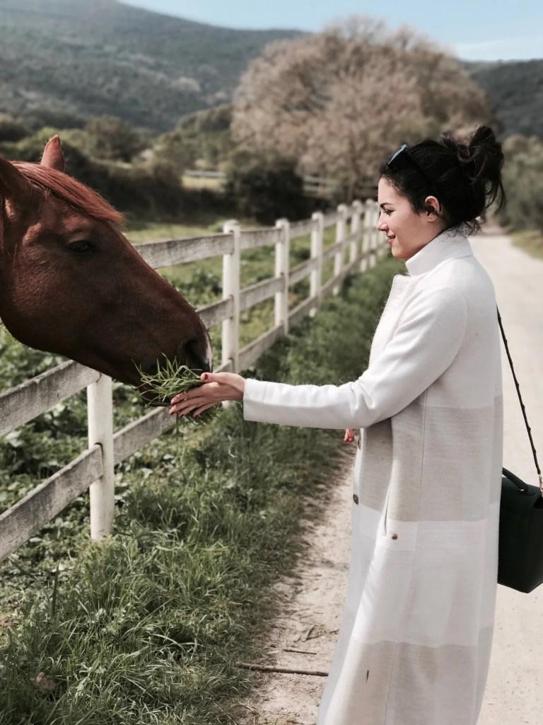 Lavinia Guglielman Argentario con Cavallo