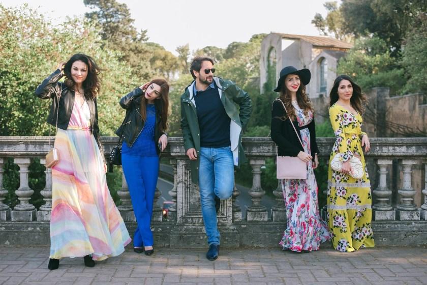 Pranzo social Pellizzari con Lavinia Guglielman, Diana de Lorenzi, Laura Manfredi, Giuseppe la Spina e Claudia Sartorelli