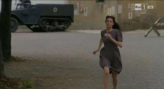 a testa alta, fiction rai uno scena di Lavinia Guglielman - come diventare attore