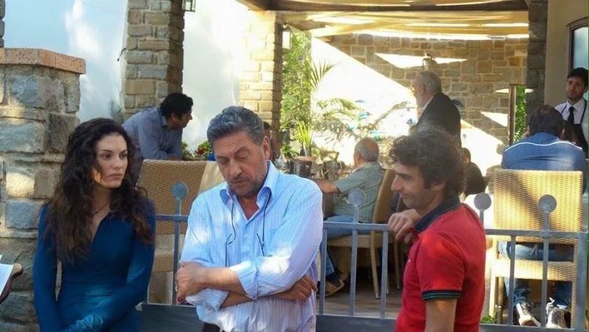 Sergio Castelletto e Lavinia Guglielman in una scena del film il sindaco pescatore Rai