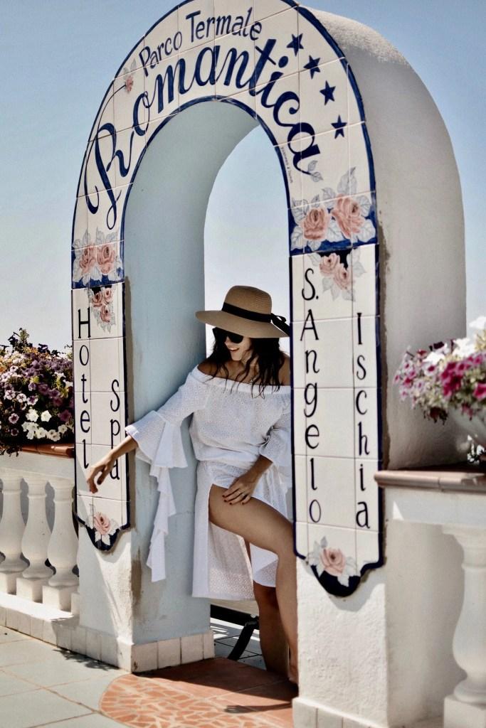 Lavinia Guglielman all'Hotel Romantica di Ischia