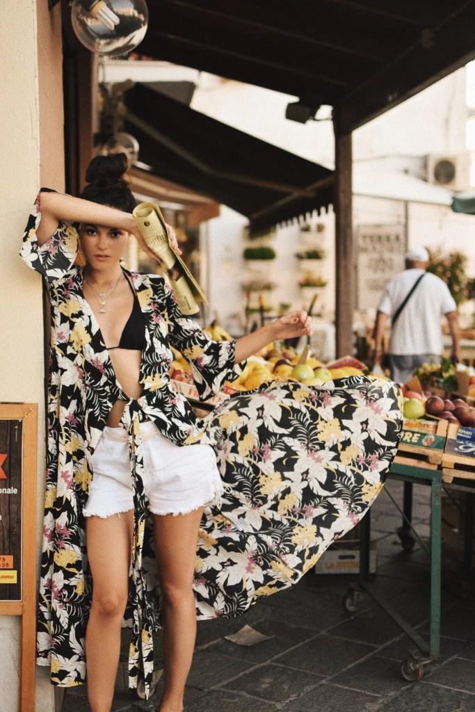 Lavinia Guglielman tra Frutta e Fiori a Ischia