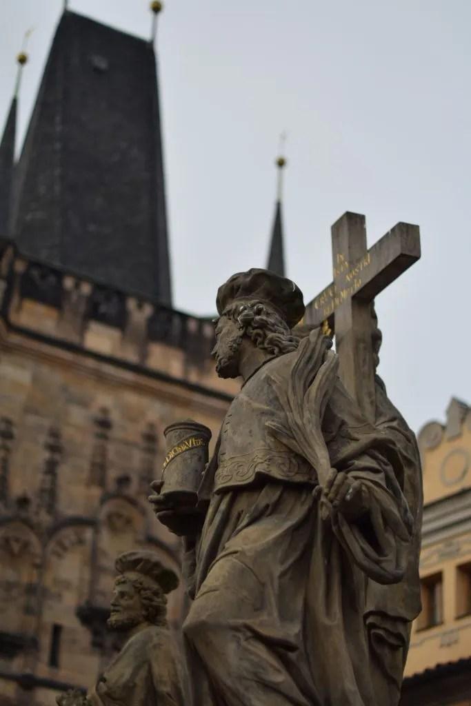 le statue dei Santi di Charle's Bridge a Praga