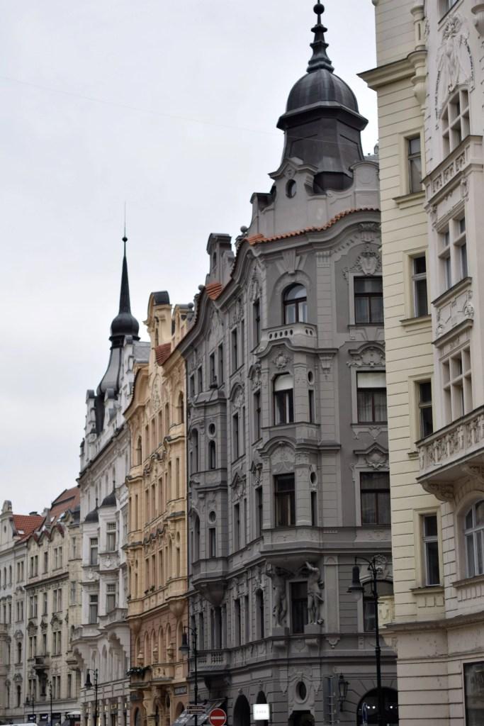 il quartiere ebraico di Josefov a Praga
