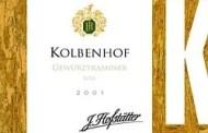 A.A. Gewurztraminer Kolbenhof 2001
