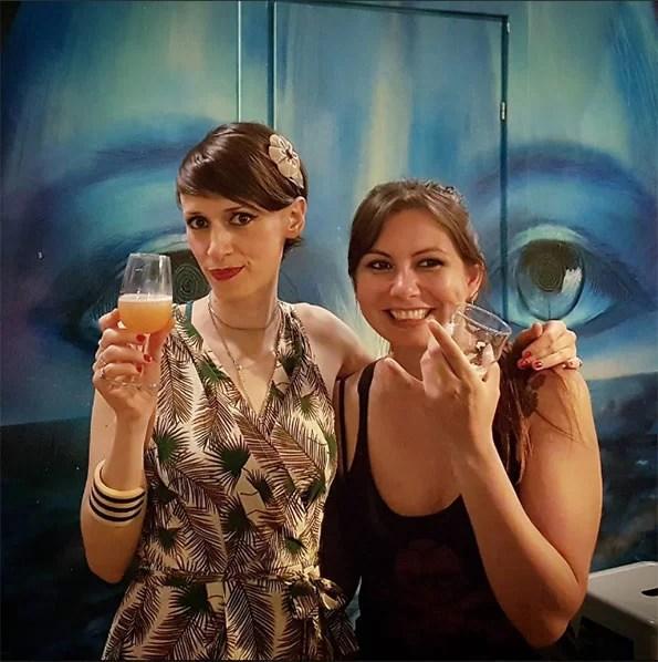 Hilary Antonelli con Mariana di Brewski