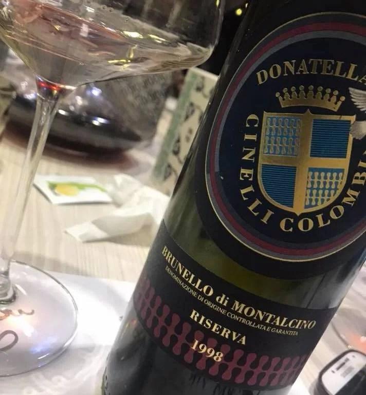 Brunello di Montalcino Riserva 1998 Cinelli Colombini