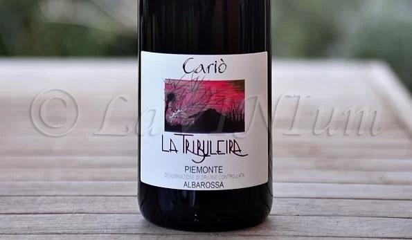 Piemonte Albarossa Cariò 2013 La Tribuleira