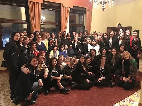 Donne del Vino Campania con il Console degli Stati Uniti Mary Ellen Countryman