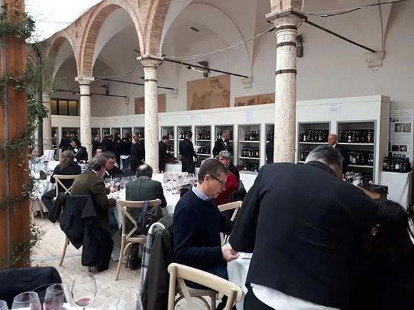 Benvenuto Brunello 2018, la degustazione nel chiostro del Bramante