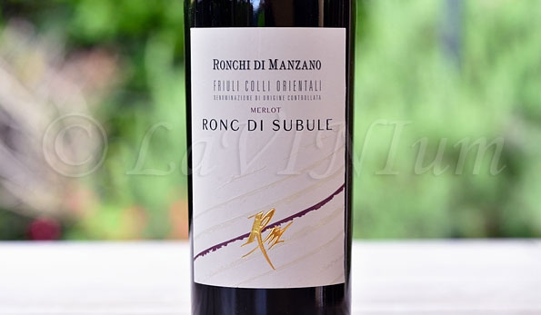 Friuli Colli Orientali Merlot Ronc di Subule 2013 Ronchi di Manzano
