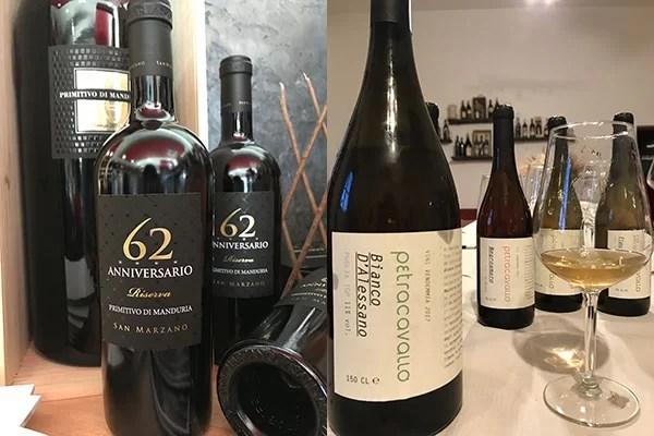 Primitivo di Manduria San Marzano e Bianco d'Alessano Petracavallo