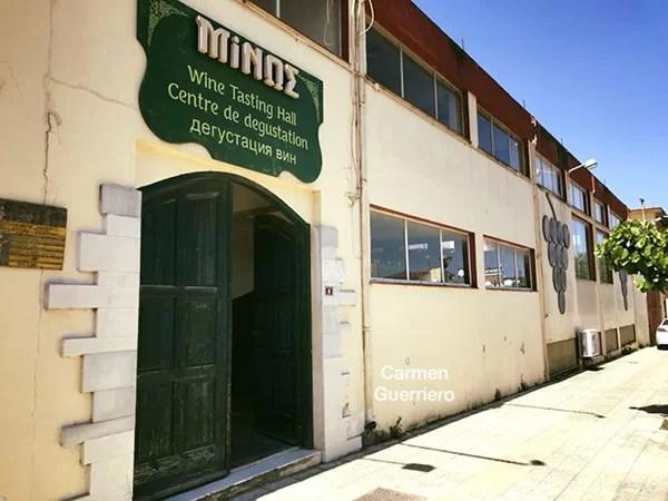 Esterno Minos Winery