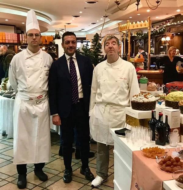Con Antonio Borrelli e Vincenzo Grassi
