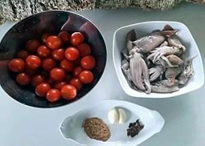 ingredienti per la preparazione dei totani