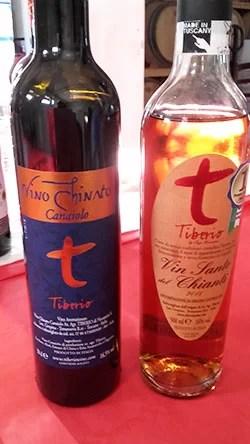 Canaiolo Chinato e Tiberio