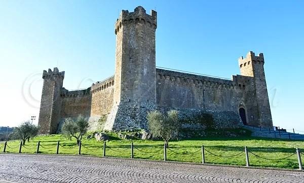 La Fortezza di Montalcino, in passato sede di Benvenuto Brunello