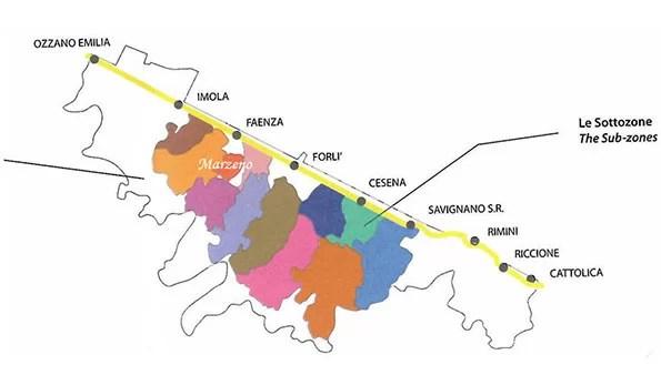 Le Doc dell'Emilia Romagna: Romagna Sottozona Marzeno