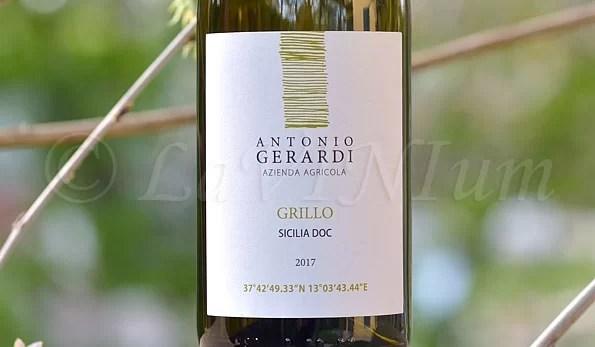 Sicilia Grillo 2017 Antonio Gerardi