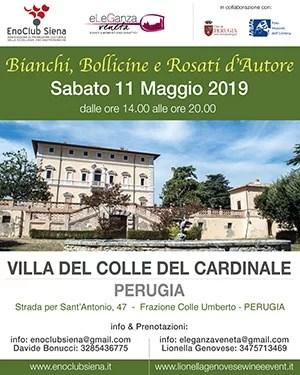 locandina Bianchi, Bollicine e Rosati d'Autore