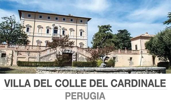 Villa del Colle del Cardinale Perugia