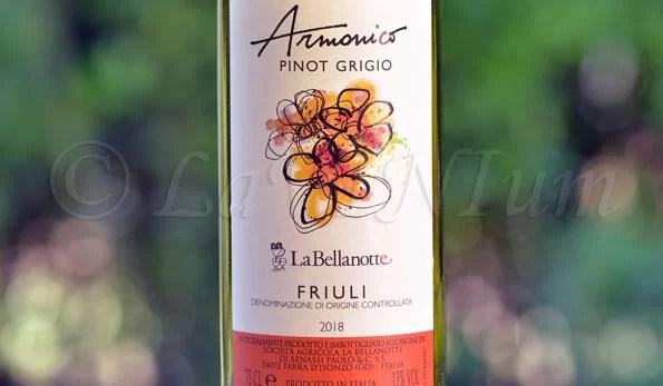 Friuli Pinot Grigio Armonico 2018 La Bellanotte