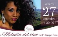 La Melodia del vino dell'Oltrepo Pavese, cena-concerto a Broni con Sherrita Duran