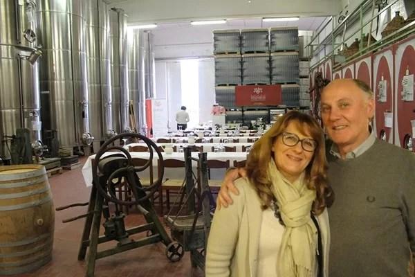 I coniugi Adriana e Giuliano Valent