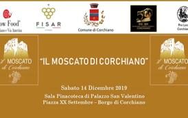 Sabato 14 e domenica 15 dicembre festa grande a Corchiano alla riscoperta del Moscato