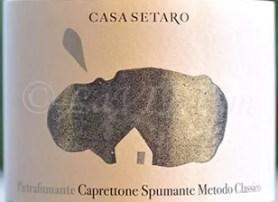 Pietrafumante Caprettone Spumante Metodo Classico 2016