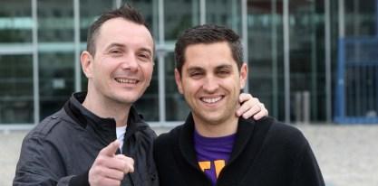 Vincent Autin et Bruno Boileau, 1er mariage gay en 2013