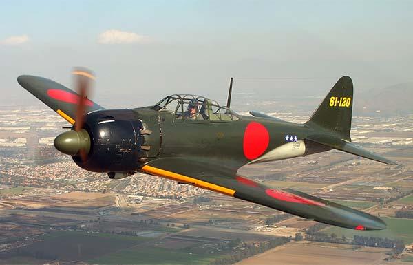 L'un des 350 avions qui piquèrent sur Pearl Harbor