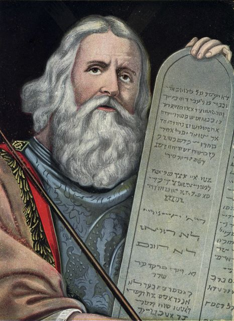 Moses and the Law Exodus 32:15