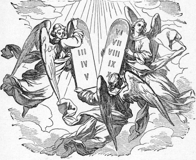 The Word Spoken Through Angels Hebrews 2:2