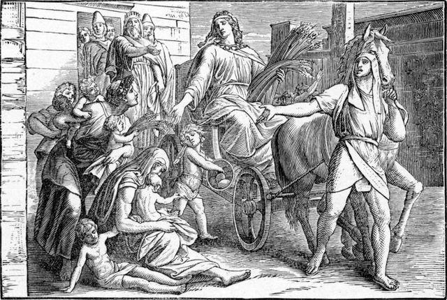 Joseph proclaimed ruler over Egypt Gensis 41:41-43