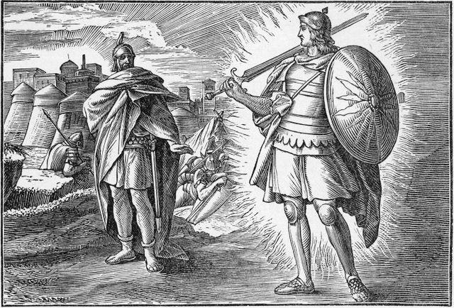 The Angel Appearing to Joshua Joshua 5:13-14