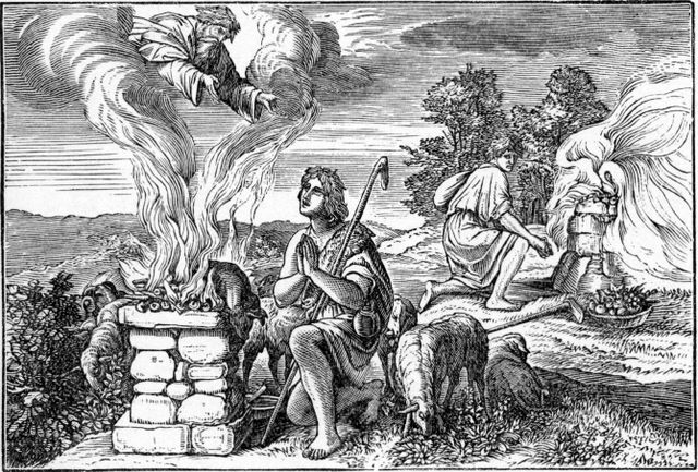 Sacrifices of Cain and Abel Genesis 4:4-5