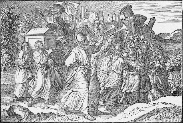 The Falling of the Walls of Jericho Joshua 6:20