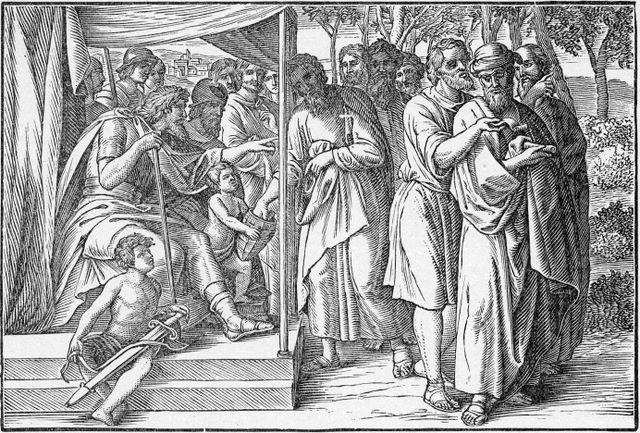 Dividing the Land Among the Tribes Joshua 13:6-7