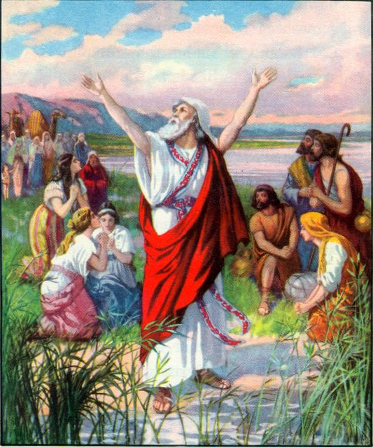 Ezekiel Teaches by the River Ezekiel 1:3