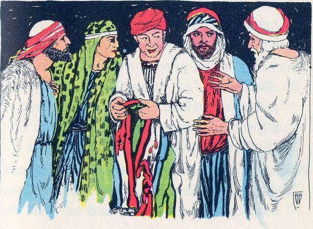Joseph's brothers make it look like Joseph was killed Genesis 37:31